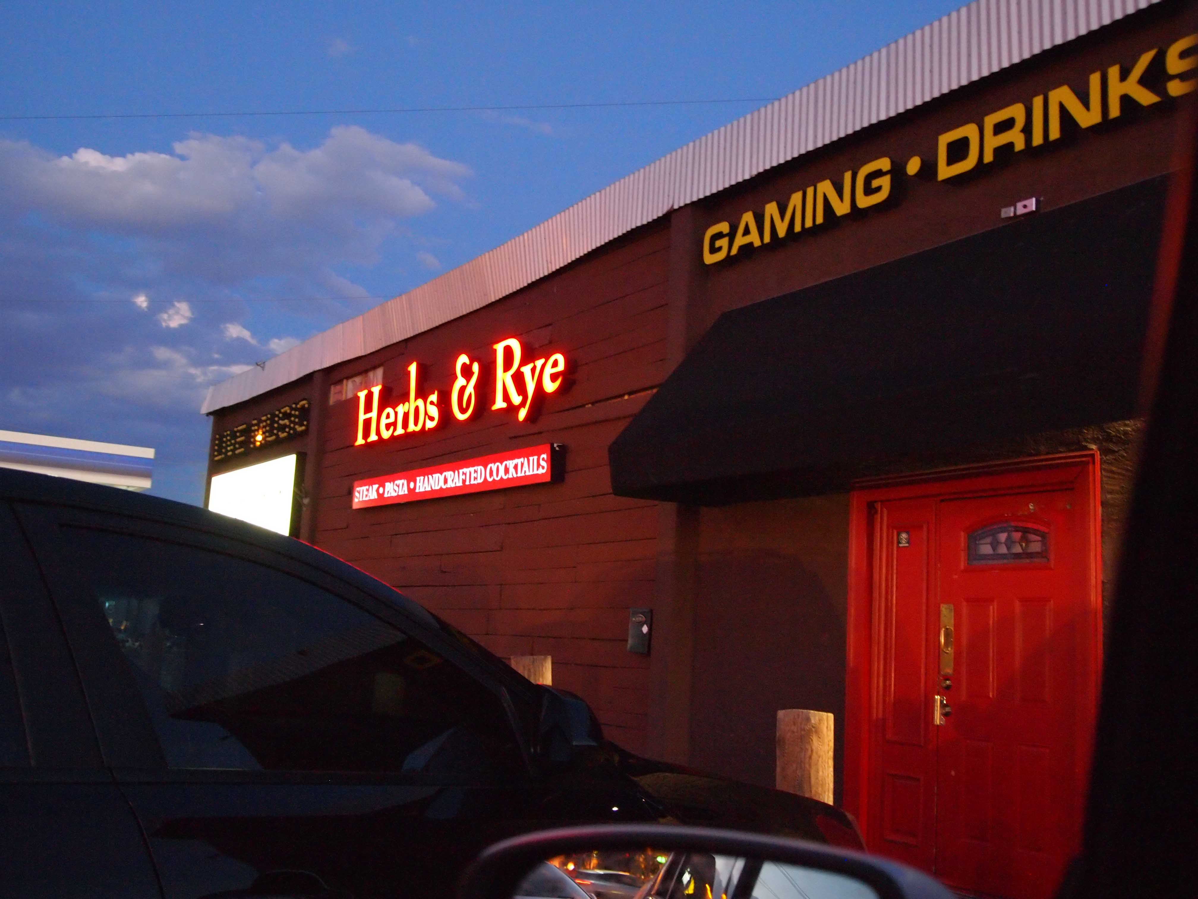 Herbs and Rye (Las Vegas) Review | The Mix Lab